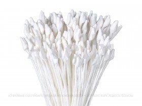 японские тычинки белого цвета для роз