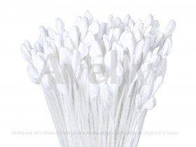 Японские тычинки для цветов белые мелкие для розы, 288 шт
