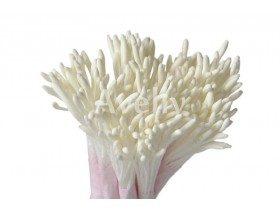 Тычинки для цветов белые длинные