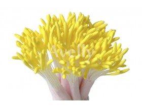 Тычинки для цветов, желтые длинные, 500 шт