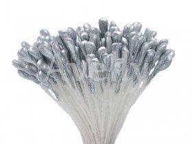 Тычинки для цветов серебряные