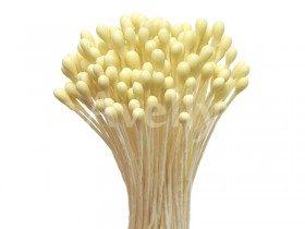 Японские тычинки для цветов желтые круглые средние 2-3 мм