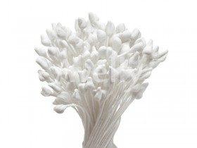 Японские тычинки белые для розы крупные