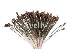 Тычинки для цветов мокко средние, 280 шт, Китай