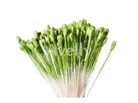 Тычинки для цветов травянисто-зеленые (для розы), 288 шт, Китай