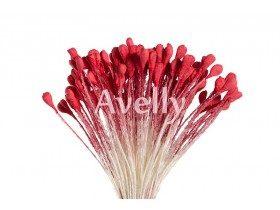 Тычинки для цветов венецианский красный, 288 шт