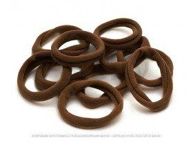 Резинки для волос набор коричневые