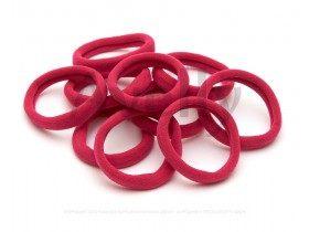 набор резинок для волос розовая фуксия