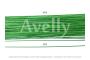 Проволока для цветов №18 в бумажной обмотке светло-зеленая, 30 см, 100 шт