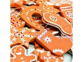 Новогодний МК, Имбирное печенье на ёлку