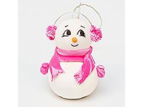 Новогодний МК, снеговичок Милашка
