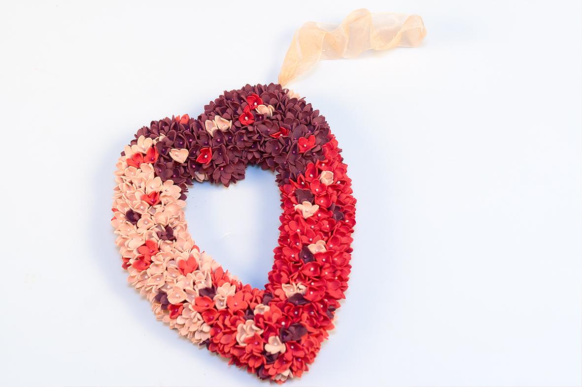 день святого валентина из фоамирана